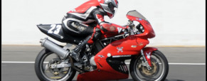 Ducati track day at 'Le Vigeant'