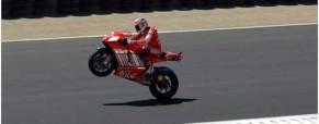 Moto GP racing day